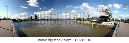 Rhine and Cologne, Germany