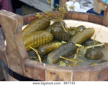 Pickle In A Barrel