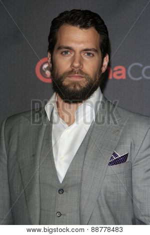 LAS VEGAS - APR 21: Henry Cavill at the Warner Bros. Pictures Exclusive Presentation Highlighting the Summer of 2015 and Beyond at Caesars Pallace on April 21, 2015 in Las Vegas, NV