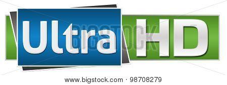 Ultra HD Green Blue Button Style