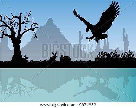 Eagle Atack Rabbits