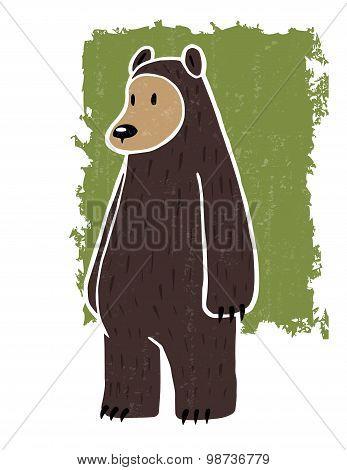 Hand Drawn Bear