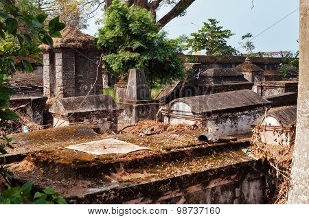 Dutch Cemetery In Fort Kochi