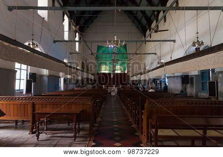 Inside Of St. Francis Church In Fort Kochi