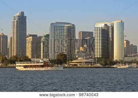 A View Of San Diego Bay, High Spirits And Downtown