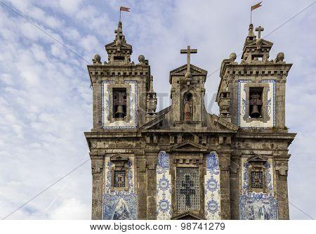 Church Of Saint Ildefonso - Igreja De Santo Ildefonso, A 18Th Century Building In Baroque Style