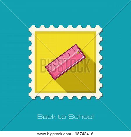 Straightedge Flat Stamp