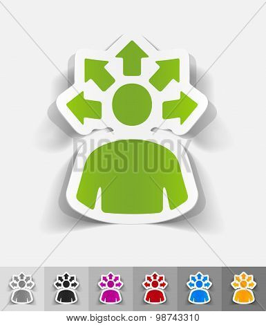 realistic design element. versatile idea