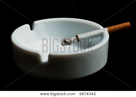 V3 Cigarette In The Ashtray