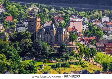Klopp Castle in Bingen am Rhein, Rheinland-Pfalz, Germany