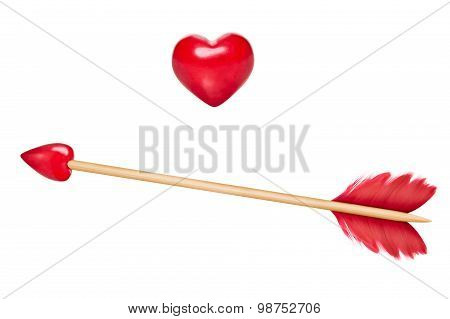 Cupid's Arrows With Heart