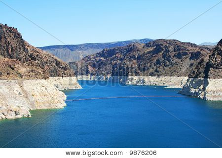 Hoover dam lake Mead side