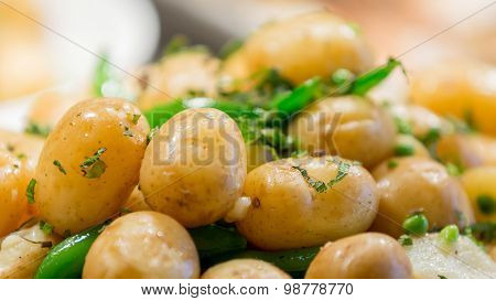 Boiled New Potatoes In Butter