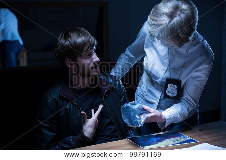 Examination In Interrogation Room