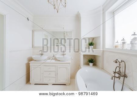 Bathroom In The French Style