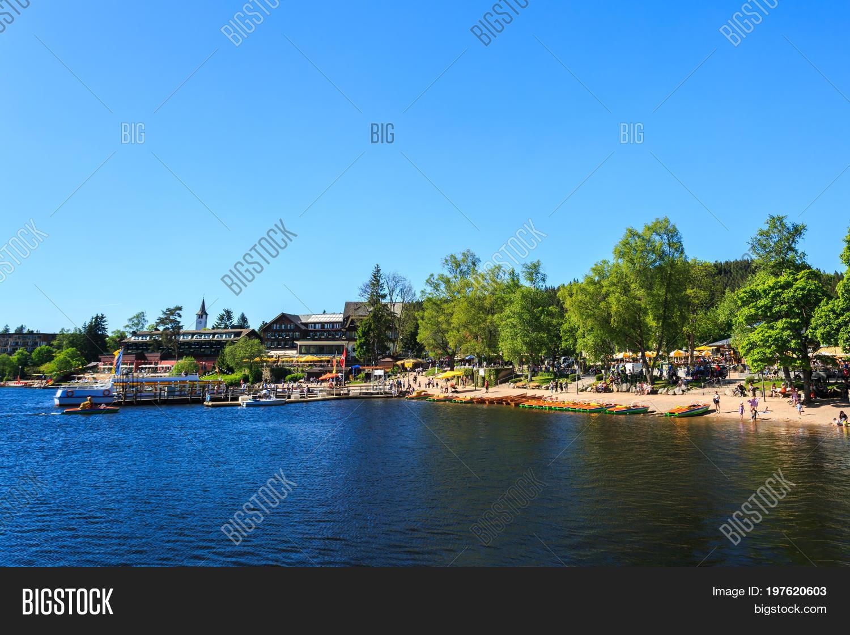 Lake Titisee Neustadt Image Photo Free Trial Bigstock