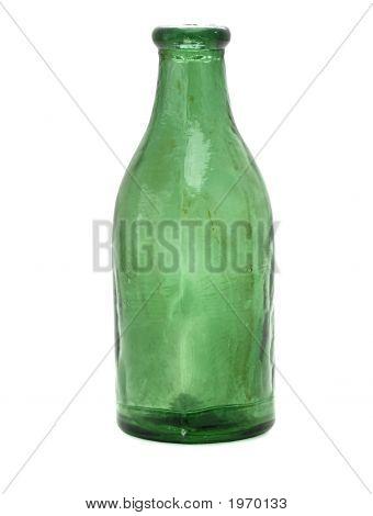 Old Green Medicine Bottle