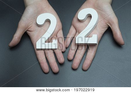 On The Female Palms Figure Twenty-two.