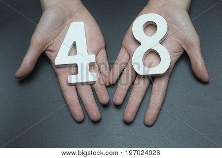 To Female Hands The Number Forty-eight.