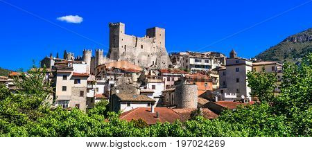 Itri - beautiful medieval village(borgo) in Lazio region, Italy