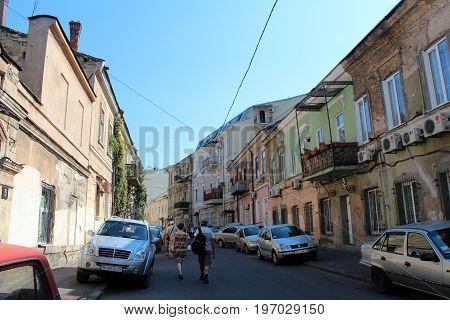 City View Of Odessa, Ukraine