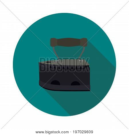 flat icon coal iron in vector format
