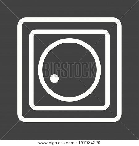 Regulator, control, equalizer icon vector image. Can also be used for Climatic Equipment. Suitable for use on web apps, mobile apps and print media.