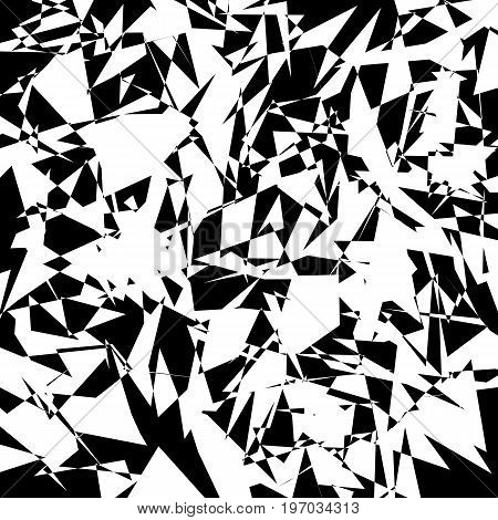 Abstract black and white background for design. Vector illustration.