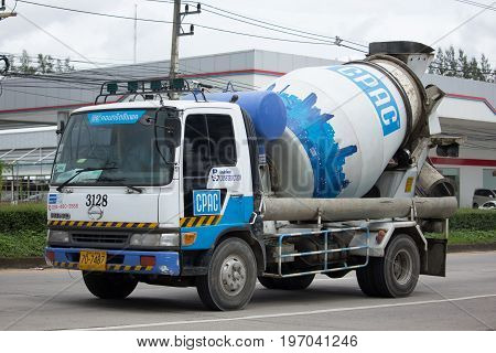Concrete Truck Of Cpac Concrete Product Company.