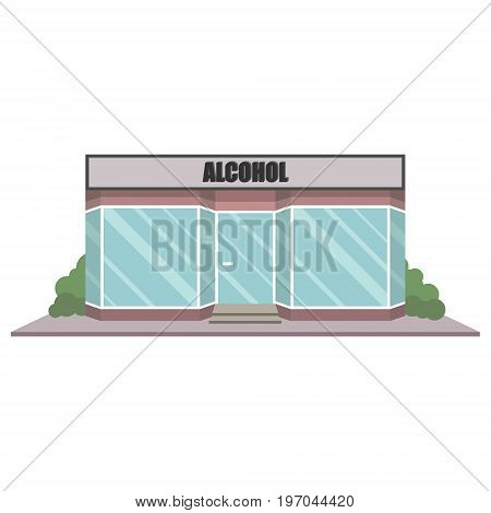 Alcohol Shop Facade