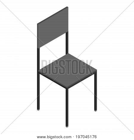 Isometric Wooden Chair