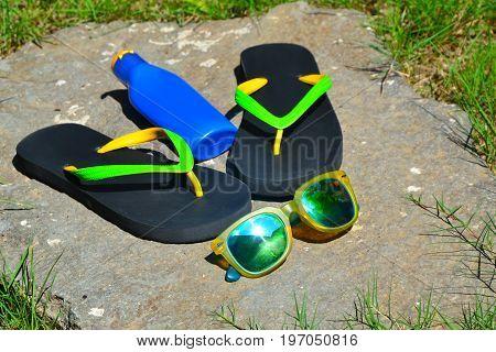 Ubud, Bali, Indonesia - July 2017: Prepare to the beach