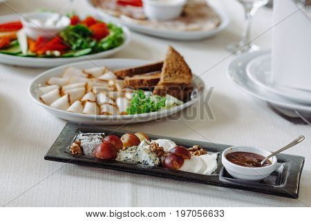 Photo Of Snack Platters On The Table