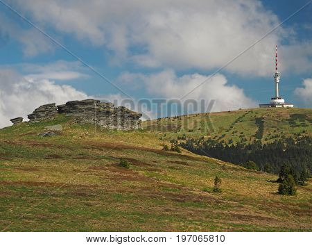 Peters Stones - Petrovy Kameny - Tv Transmitter In Praded Mountain In Jeseniky