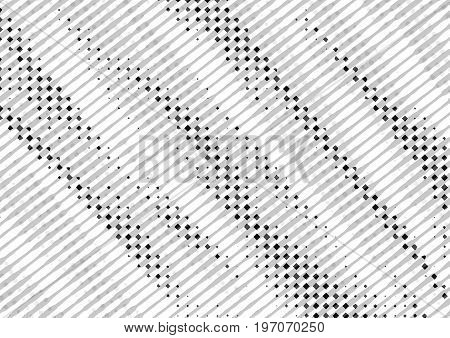 Abstract Background In White And Black Tones In Newsprint Style