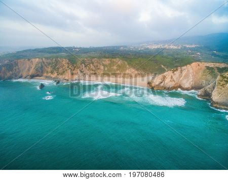 Praia da Adraga views on the coast of Portugal