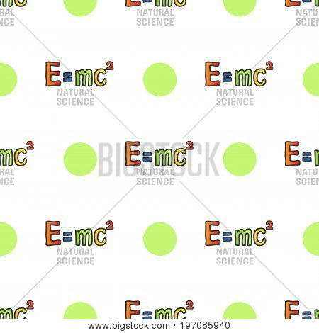 Back To School Seamless Pattern, Mass Energy Equivalence