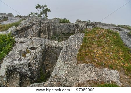 The Ruins Of The Fortress Mangup