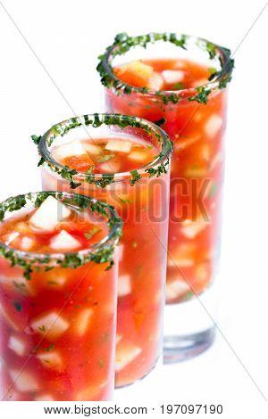 Fresh Gazpacho, Chilled Soup