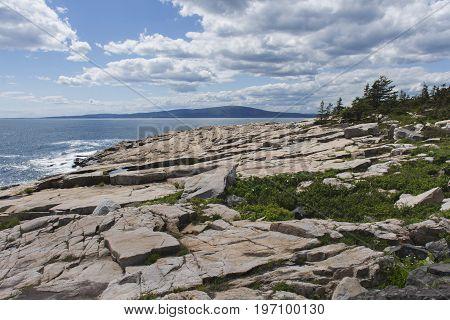 Schoodic Point Coast