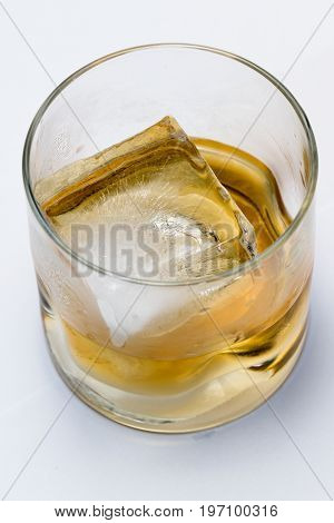 Scotch Served On The Rocks