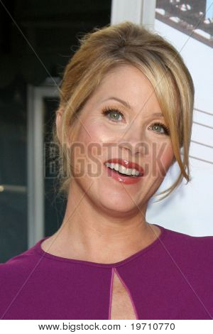 LOS ANGELES - AUG 23:  Christina Applegate arrives at the