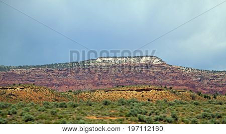 Colorful mountain scene from Scenic Byways Utah