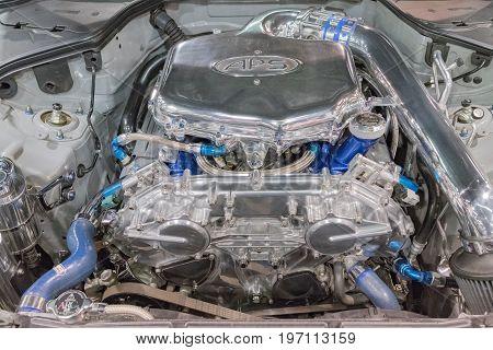 Infiniti G35 Aps Engine On Display
