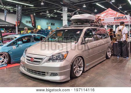 Honda Odyssey On Display