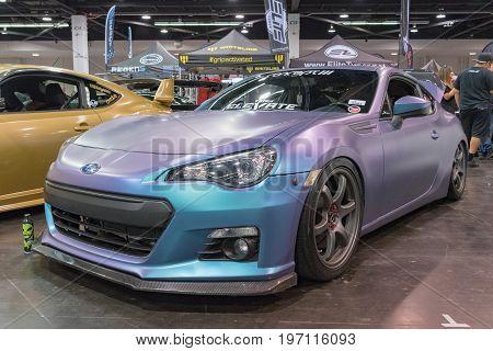 Subaru Brz Sti  On Display