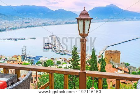 Alanya From The Summer Terrace
