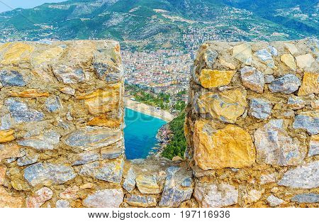 The Battlements Of Alanya Fortress