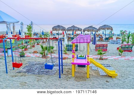 Playground In Alanya Beach