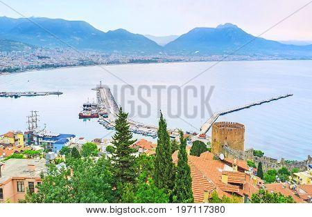 The Seascape Of Alanya